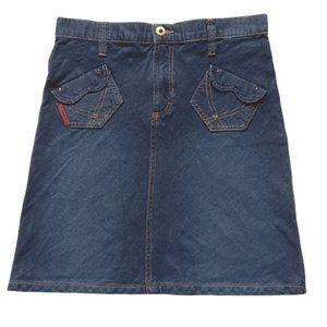 Dolce & Gabbana Denim A Line Skirt- Sz. 26